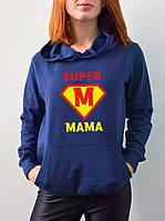 """Женская толстовка """"Супер мама"""""""