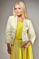 Пиджак женский распродажа желтый
