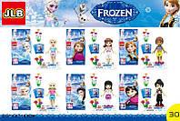 """Конструктор JLB 1002-1/1002-6 (M1002) """"Frozen"""", 6 видов"""