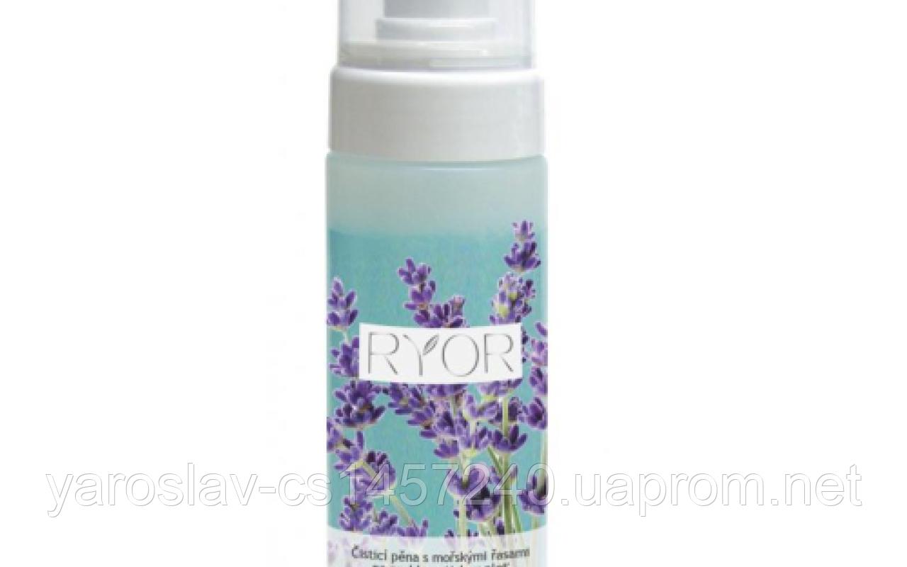 Очищающая пена с морскими водорослями для проблематичной кожи , Ryor (Риор) Чехия 150 мл