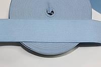 Резинка декоративная 50мм. голубой , фото 1