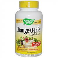 Nature's Way, Смесь 7 трав Change-O-Life, 440 мг, 180 капсул