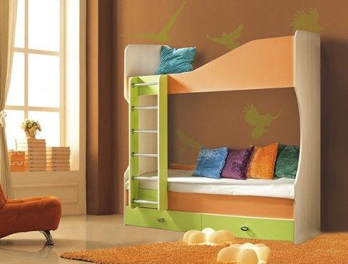 Кровать двухьярусная №2 Моби Скай