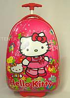 Детские чемоданы на 2 колесах Hello Kitty
