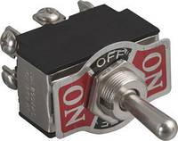 Тумблер KN3-223 (ON)-OFF-(ON) 6pin без фиксации