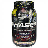 Muscletech, Performance Series, Phase8, Multi-Phase 8-Hour Protein, Cookies and Cream, 2.00 lbs (907 g)