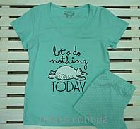 Пижама женская футболка с шортами EGO размер M,L,XL, фото 1