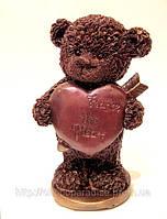 Подарок на 8 марта девушке. Мишка с сердцем, фото 1