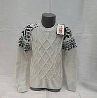 Нарядный свитер для мальчиков Udi Kids Снежинки