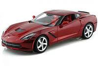 MAISTOАвтомодель (1:18) 2014 Corvette Stingray красный