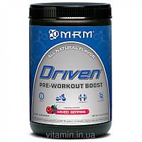 MRM, Driven, Формула перед тренировкой, без сахара, ягодный микс, 12.3 унции (350 г)