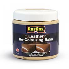 Відтіночний бальзам для шкіряних виробів Leather Re-Colouring Balm Dark Brown (темно-коричневий)