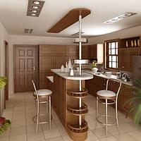 Кухня с барной стойкой: современное искусство зонирования