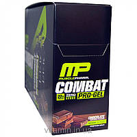 Muscle Pharm, Combat Pro-Gel, Chocolate, 12 Protein Gels, 1.21 lbs (552 g)