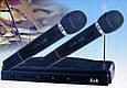 Комплект профессиональных микрофонов K&K AT-306 с радиобазой, фото 2