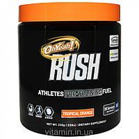 Oh Yeah!, Rush, Athletes Pre-Training Fuel, Tropical Orange, .53 lbs (240 g)