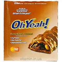 Oh Yeah!, Protein Bar, Peanut Butter & Caramel, 12 Bars, 3 oz (85 g) Each