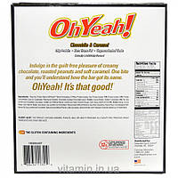 Oh Yeah!, Protein Bars, Chocolate & Caramel, 12 Bars, 3 oz (85 g)