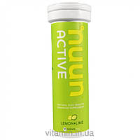 Nuun Hydration, Electrolyte, Tabs, Lemon+Lime, 10 Tablets