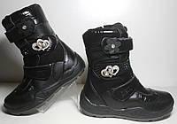 Кожаные ботинки для девочки р.28-31