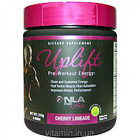 NLA for Her, Uplift, Pre-Workout Energy, Cherry Limeade, 0.46 lbs (210 g)