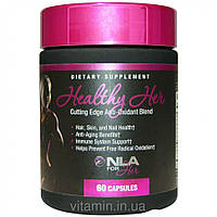 NLA for Her, Healthy Her, Cutting Edge Anti-Oxidant Blend, 60 Capsules