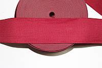 Резинка декоративная 60мм. бордовый , фото 1