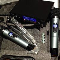 Микрофон UKC DM-5000  UHF база 2 радиомикрофона
