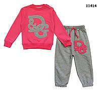 Спортивный костюм D&G для девочки. 1, 2, 3, 4 года