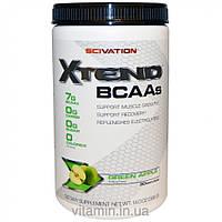Scivation, Xtend, BCAAs (аминокислоты с разветвленными боковыми цепями), со вкусом зеленого яблока, 14,0 унций (398 г),топ