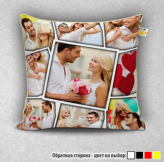 Подушка габардиновая с фото