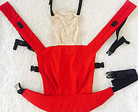 Эргорюкзак красный, фото 1