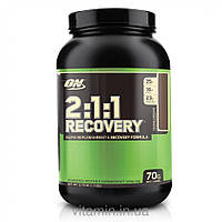 Optimum Nutrition, 2:1:1 Recovery, Rapid Replenishment & Recovery Formula, Colossal Chocolate, 3.73 lb (1.7 kg)