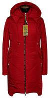 Женское демисезонное пальто из плащевки