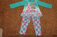 Детский костюм для девочек Frozen бирюза начес,дроп 205грн, розница 240грн