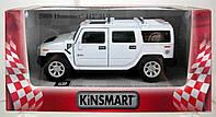 Машина метал.kinsmart kt5337w 2008 hummer h2 suv в кор. 16*8,5*7,5см - KT5337W