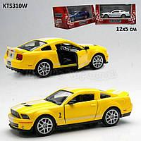 Машина метал.kinsmart kt5310w shelby gt500 в кор. 16*8,5*7,5см - KT5310W