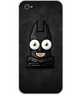 Силиконовый чехол для Iphone 5c с картинкой Batman