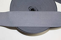Резинка декоративная 60мм. св.серый , фото 1