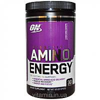 Optimum Nutrition, Энергетическая добавка с незаменимыми аминокислотами, Виноград, 0,6 фунтов (270 г),Украина