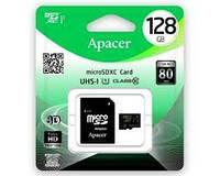 Карта памяти microSDXC (UHS-1) Apacer 128Gb class 10 (adapter SD)
