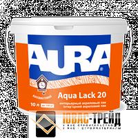 TM Aura Aqua Lack 20 - интерьерный акриловый лак ( ТМ Аура Аква Лак 20), 10 л.