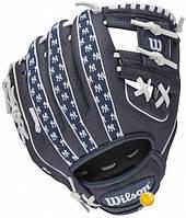 """Бейсбольная перчатка Wilson NEW YORK YANKEES 10"""" MLB SS14"""