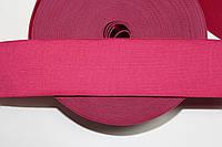 Резинка декоративная 60мм. малиновый , фото 1