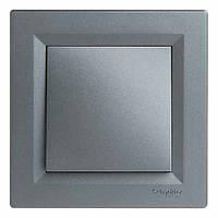 Выключатель SCHNEIDER ASFORA ЕРН0100162 1кл. сталь