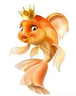 """Пищевой краситель золотистый, сухой """"Золотая рыбка """""""