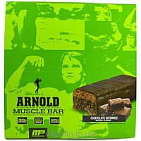 Arnold, Muscle Bar, Chocolate Brownie, 12 Bars, 3.17 oz (90 g) Each