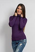 Гольф мелкая вязка фиолетовый