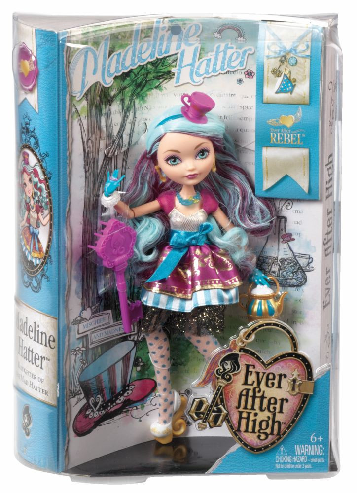 Кукла Ever After High Madeline Hatter Эвер Афтер Хай Меделин Хеттер базовая
