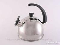 Чайник для кипячения воды FISSMAN GLASGOW 2,5 л нерж. сталь (KT-5922.2.5)
